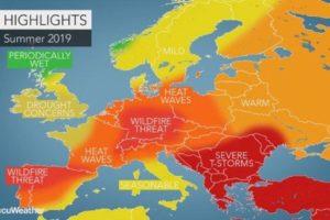 Portugal vai ter verão histórico com máximas de 43º durante vários dias